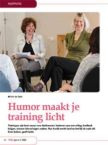 Humor maakt je training licht